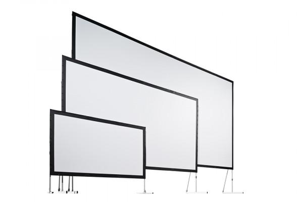 AV Stumpfl® VARIO® 64 Leinwandtuch Dualprojektion 1400x300